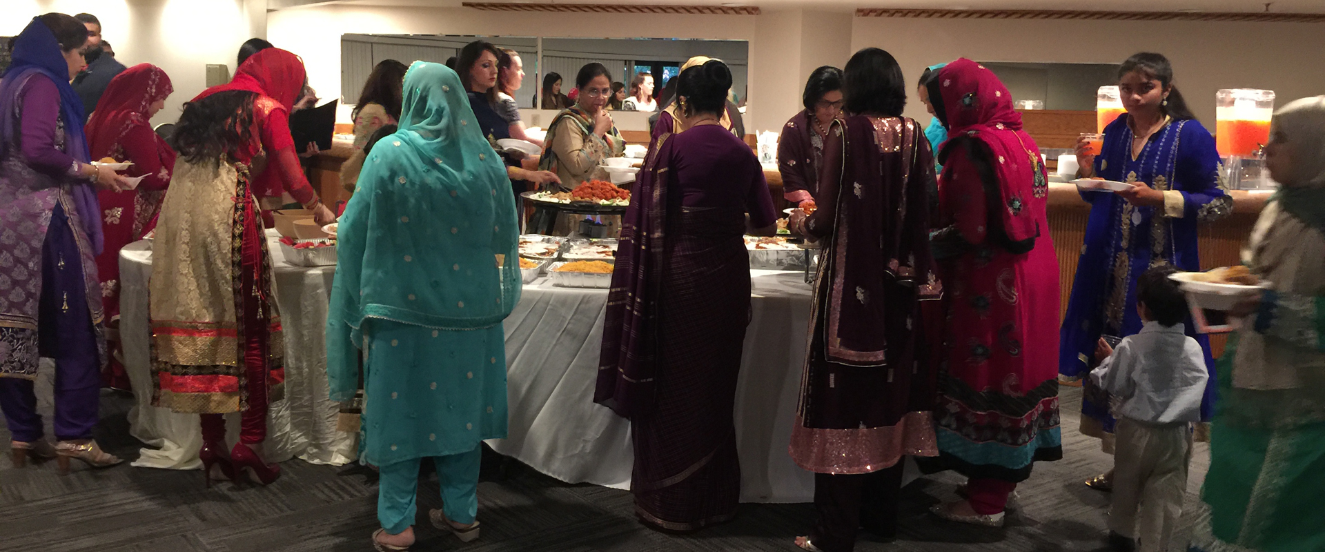 Jaipur Indian Cuisine Catering Guests